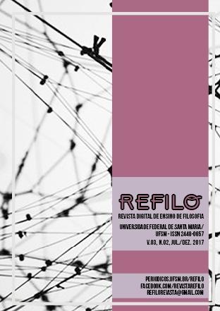 Capa da Revista Refilo Volume 3 Número 2 2017 Um fundo em teia e a cor rosa