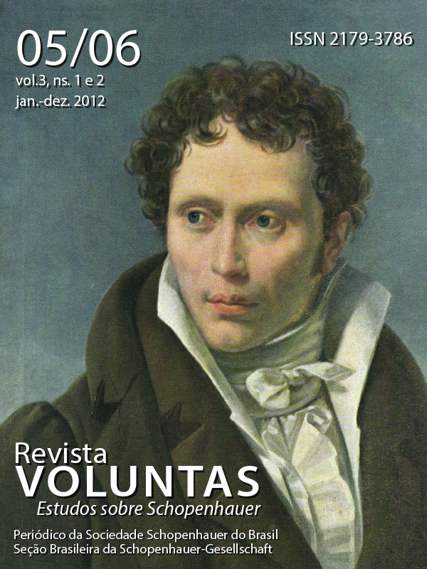 Capa Voluntas v.3, ns.1 e 2